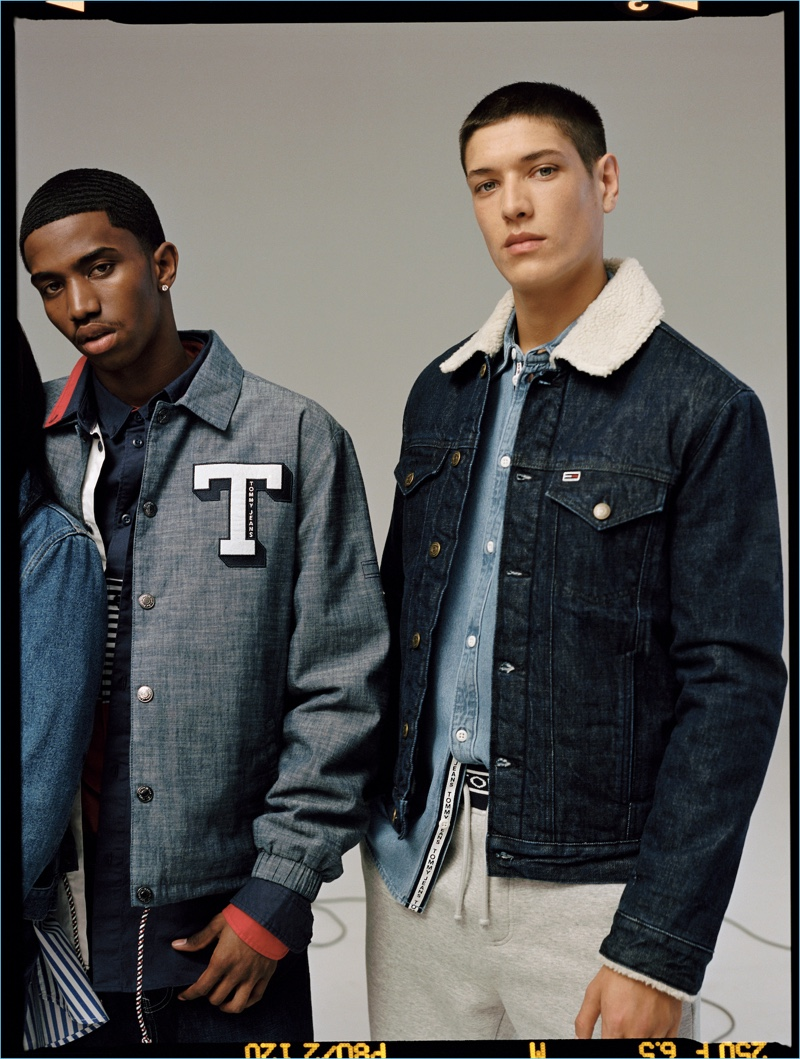 Tommy Jeans taps Christian Combs and Aaron Unknown as the stars of its fall-winter 2018 campaign.