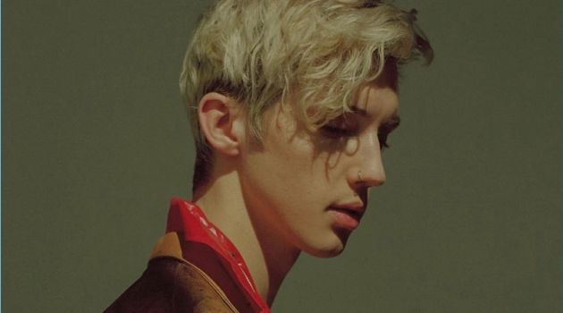James Caruthers photographs Troye Sivan for Time magazine.