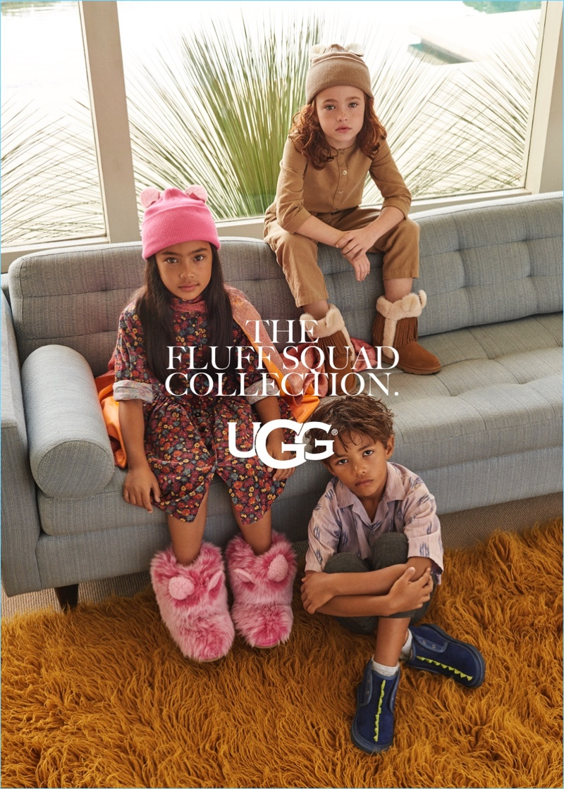 UGG unveils its fall-winter 2018 kid's campaign.