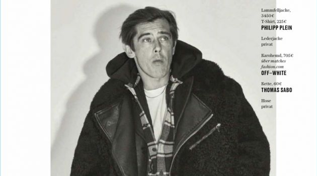 Werner Schreyer Dons the Fall Collections for GQ Germany