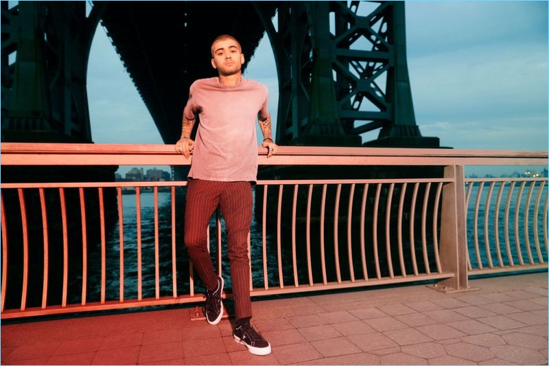 Zayn Malik fronts the Converse One Star Carnival collection campaign.