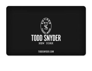 $500 Gift Card to ToddSnyder.com
