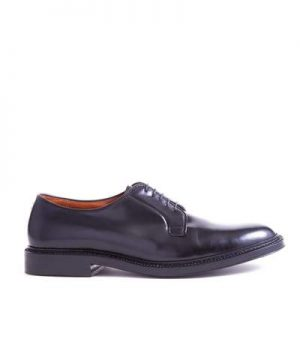 Alden Cordovan Plain Toe Blucher In Black