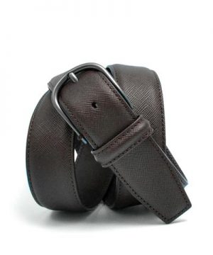 Anderson's Nappa Calf Belt in Brown