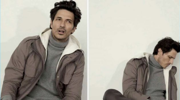 Andres Velencoso Dons Neutrals for GQ Style México