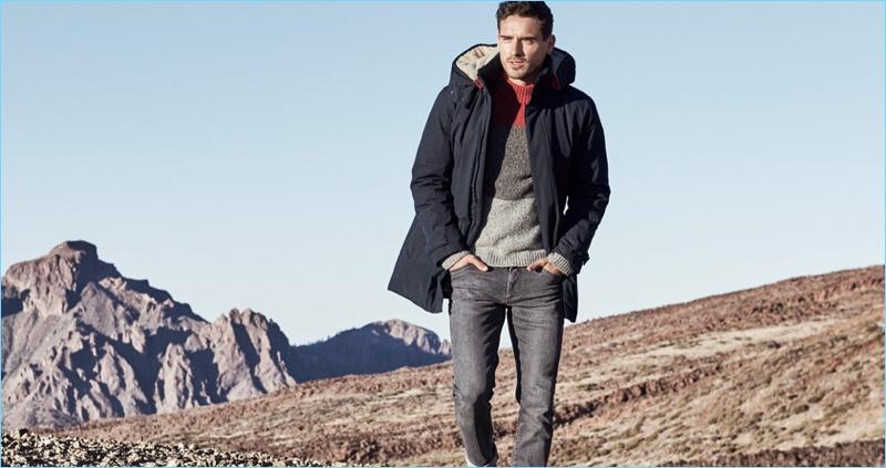 Arthur Kulkov reunites with Brax for its fall-winter 2018 campaign.
