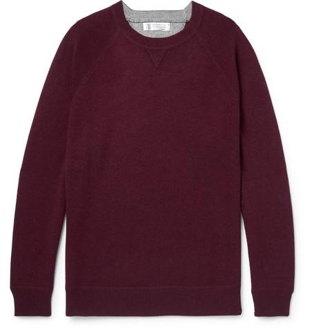 Brunello Cucinelli - Cashmere Sweater - Burgundy