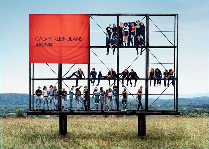 Calvin Klein Jeans presents its fall-winter 2018 campaign.