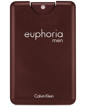 Calvin Klein euphoria men Eau de Toilette Pocket Spray, 0.67 oz.