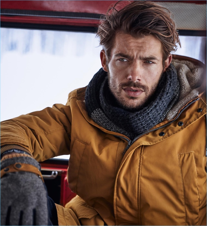 Jacey Elthalion fronts Camel Active's fall-winter 2018 campaign.