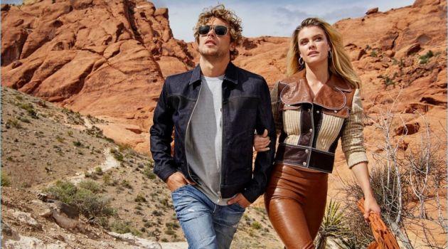 Christopher Mason & Nina Agdal Couple Up for Cosmopolitan