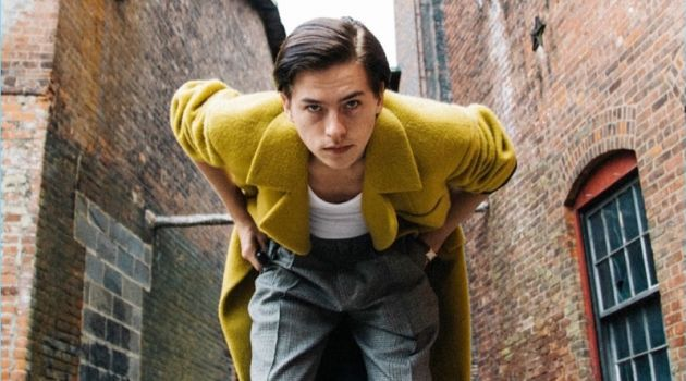 Cole Sprouse Stars in Self-Portraits for Vogue Hommes Paris