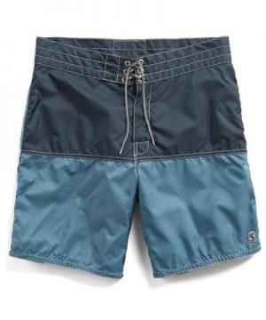 Exclusive Birdwell 311 Board Shorts in Mast Blue Colorblock
