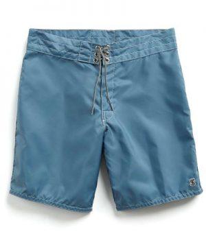Exclusive Birdwell Contrast Pocket 311 Board Shorts in Mast Blue