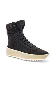 Fear of God Cordura Jungle Sneakers in Black