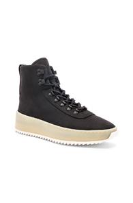 Fear of God Nubuck Hiking Sneakers in Black