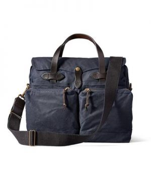 Filson 24 hour Tin Briefcase in Navy