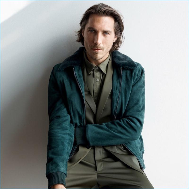 Johan Sandberg photographs Guillaume Macé for Zara.