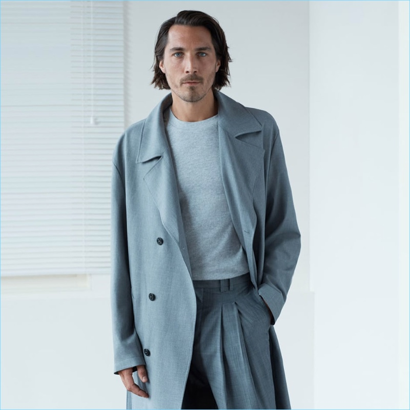Embracing shades of grey, Guillaume Macé links up with Zara for fall.