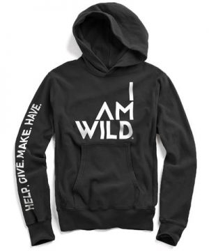 IAMWILD® Popover Hoodie In Black