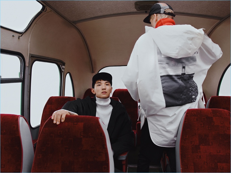 Ready for fall, Jeon June stars in an on-trend editorial for Zara Man.