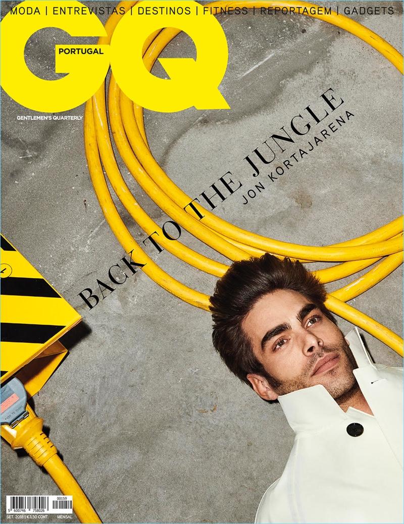 Back to the Jungle: Jon Kortajarena for GQ Portugal
