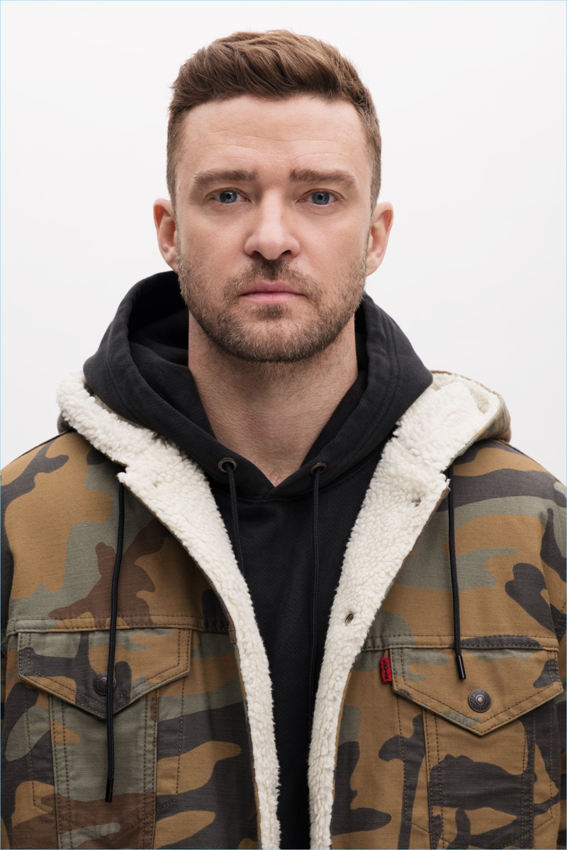 Singer Justin Timberlake collaborates with Levi's for fall.