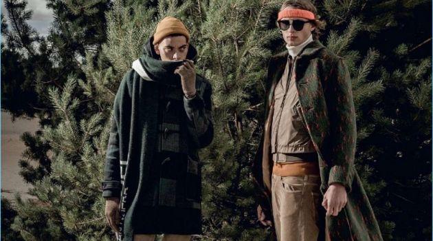 Arjan Van Hesteren & Cyriel Van Bosstraeten Embrace Rustic Style for Le Vif Weekend