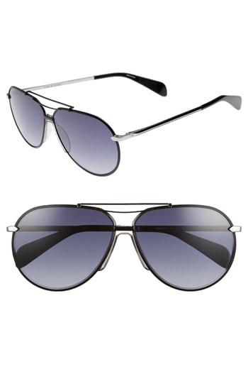 e407d7f0d37d Men's Rag & Bone 61Mm Aviator Gradient Sunglasses – Ruthenium/ Matte Black  | The Fashionisto
