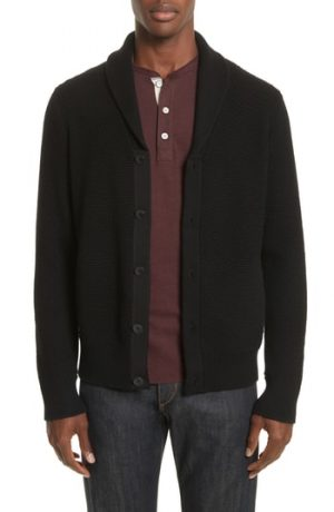 Men's Rag & Bone Cardiff Shawl Cardigan