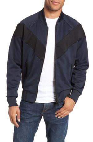 Men's Rag & Bone Colorblock Slim Fit Bomber Jacket