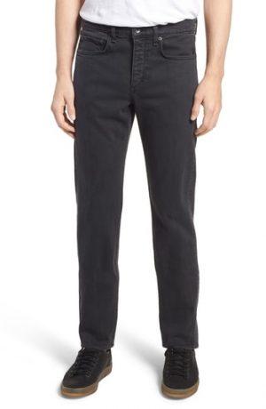 Men's Rag & Bone Fit 2 Slim Fit Jeans, Size 29 - Black