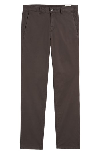 Men's Rag & Bone Fit 3 Classic Chinos, Size 33 - Grey