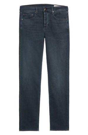 Men's Rag & Bone Fit 3 Slim Straight Leg Jeans, Size 29 - Black