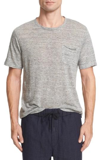 Men's Rag & Bone Owen Slub Linen T-Shirt