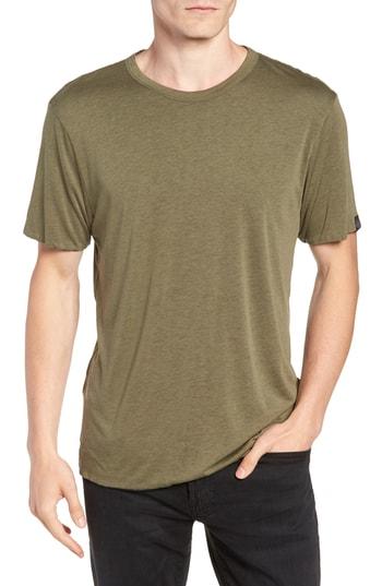Men's Rag & Bone Slim Fit Reversible T-Shirt, Size Small - Green