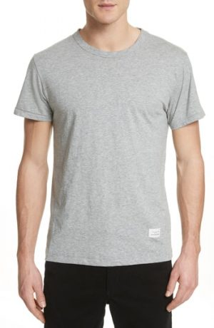 Men's Rag & Bone Standard Issue Slubbed Cotton T-Shirt, Size X-Small - Grey