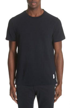 Men's Thom Browne Stripe Crewneck T-Shirt, Size 1 - Blue