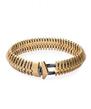 Miansai Klink Bracelet in Brass