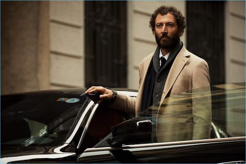 Diego Confalonieri dons Brunello Cucinelli for Mr Porter.
