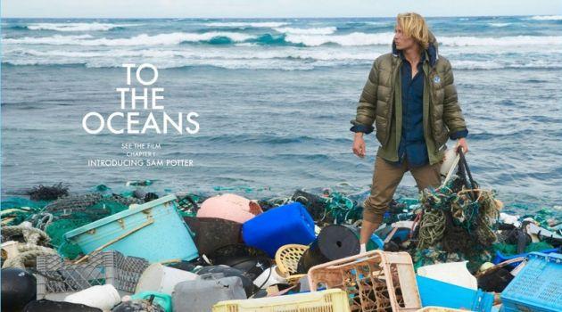 Sam Potter stars in a campaign for North Sails.