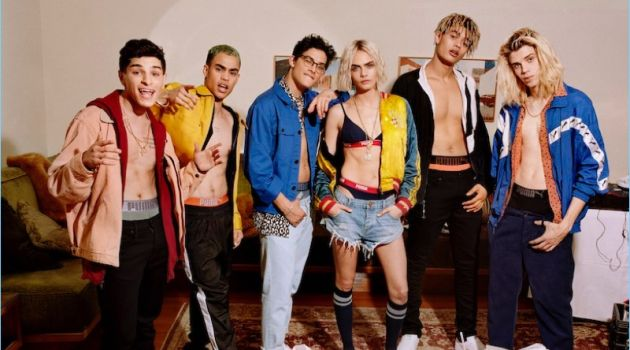 Cara Delevingne joins PRETTYMUCH for PUMA Bodywear's fall-winter 2018 campaign.