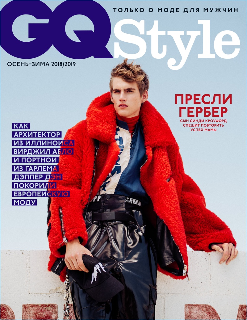 Presley Gerber Hits the Track for GQ Style Russia