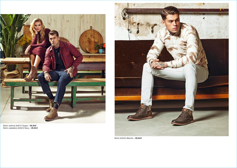 Refresh Shoes reunites with Stephen James for fall-winter 2018.