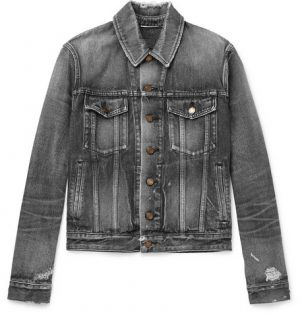 Saint Laurent - Denim Jacket - Gray