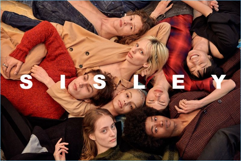 Ryan McGinley photographs Sisley's fall-winter 2018 campaign.