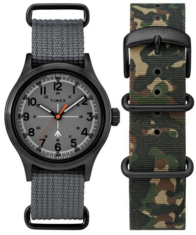 The Military Watch in Grey