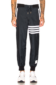 Thom Browne Light Weight Sweatpants in Blue