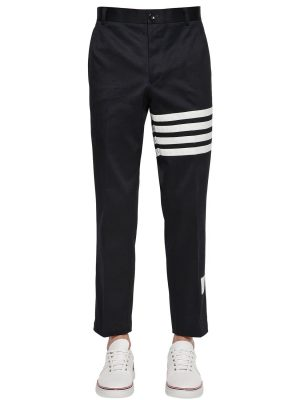 Unconstructed Cotton Twill Chino Pants
