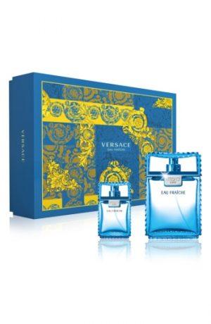 Versace Man Eau Fraiche Eau De Toilette Set ($133 Vlaue)